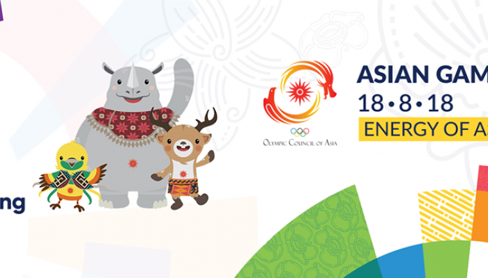 18th Asian Games Jakarta Palembang 2018