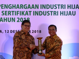 Lima Kali Raih Industri Hijau Level 5